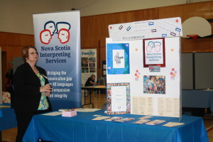 Our Executive Director Ann Cochran at the Multicultural Health and Wellness Fair in March 2013.